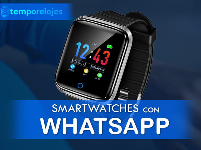 Mejores smartwatches con whatsapp