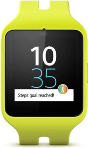 Sony Smartwatch 3 Sport frontal